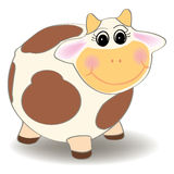 Cow cartoon vector Stock Photography