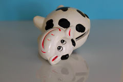 Cow ceramic Royalty Free Stock Photography