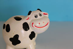 Cow ceramic Stock Image