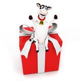 Cow character Stock Photography