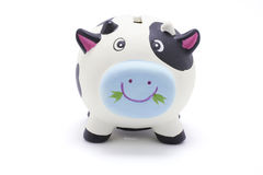 Cow Coin Box Royalty Free Stock Images