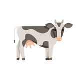 Cow - concept for milk and dairy industry Stock Images