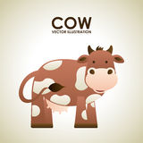 Cow design Royalty Free Stock Photography