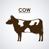 Cow design Royalty Free Stock Photo