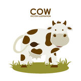 Cow design Royalty Free Stock Images