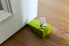 Cow Doorstop Stock Image