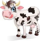 Cow. Drawn on a white background Royalty Free Stock Photos