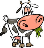 Cow farm animal cartoon illustration Royalty Free Stock Photo