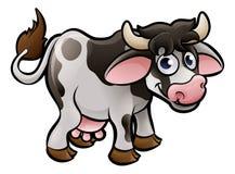 Cow Farm Animals Cartoon Character royalty free illustration