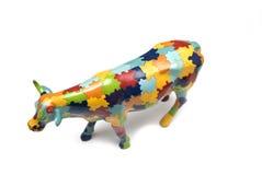 cow figurine Στοκ εικόνα με δικαίωμα ελεύθερης χρήσης