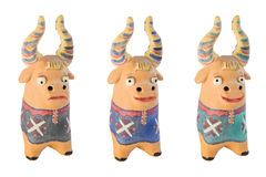 Cow figurines  Royalty Free Stock Photo
