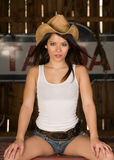Cow-girl Photo stock