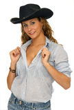 Cow-girl Photo stock