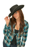 Cow-girl Photographie stock