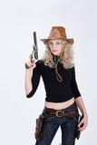 Cow-girl Images stock