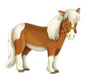 Cow-girl - cowboy - ouest sauvage - illustration pour les enfants Images libres de droits
