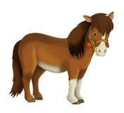 Cow-girl - cowboy - ouest sauvage - illustration pour les enfants Photo libre de droits