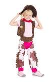 Cow-girl de gosse Image stock
