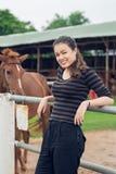 cow-girl gaie Image libre de droits