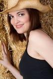 Cow-girl heureuse Photo stock