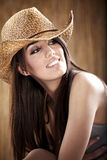 Cow-girl sexy Photo stock
