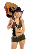Cow-girl sexy image stock
