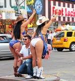 Cow-girls nues Image libre de droits