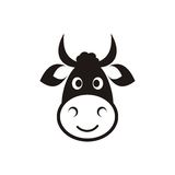 Cow head icon Royalty Free Stock Photography
