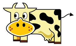 Cow icon Royalty Free Stock Photos
