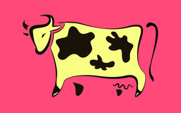 Cow icon Stock Photo