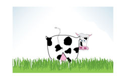 Cow  illustration Royalty Free Stock Photo