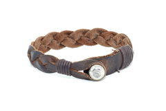Leather Bracelet Stock Photo