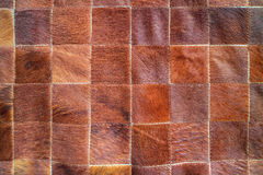 Cow leather with pattern Royalty Free Stock Photo