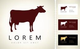 Cow logo Royalty Free Stock Photos