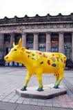 Cow parade, Edinburgh Royalty Free Stock Photo