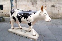 Cow parade, Edinburgh Stock Photo