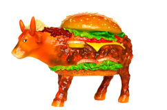 Cow parade Royalty Free Stock Photography