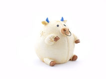 Cow piggy bank Stock Photo