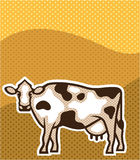 Cow Pop Art Royalty Free Stock Photos