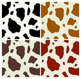 Cow print pattern stock illustration