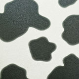Cow print on seamless leather Royalty Free Stock Photo