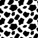 Cow Seamless Pattern Background Vector Royalty Free Stock Photo