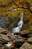 Cow Shed Falls, Fillmore Glen Stock Photo