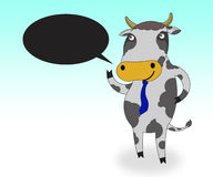 Cow smile Stock Photo