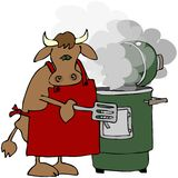 Cow Smoker Royalty Free Stock Photos