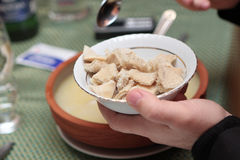 Cow stomach for khash Stock Images