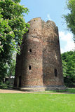Cow Tower. One of the earliest purpose-built artillery blockhouses in England, this brick tower was built in about 1398-9 to command a strategic point in royalty free stock photos