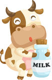 Cow vector Royalty Free Stock Photo
