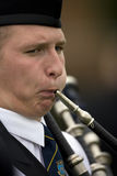 cowal聚集的吹笛者苏格兰 免版税库存图片