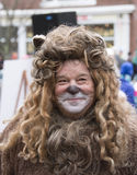 The Cowardly Lion royalty free stock photography